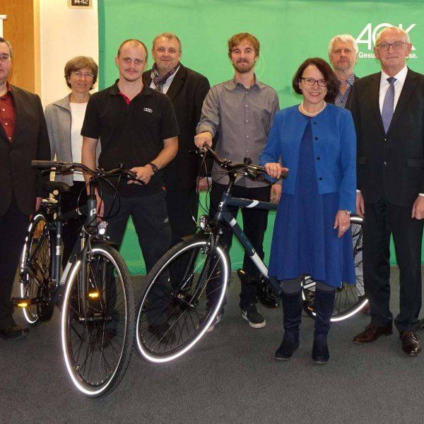 """Neuer Teilnehmerrekord bei der Aktion """"Mit dem Rad zur Arbeit"""" 3.000 Menschen radelten mehr als 585.000 Kilometer"""
