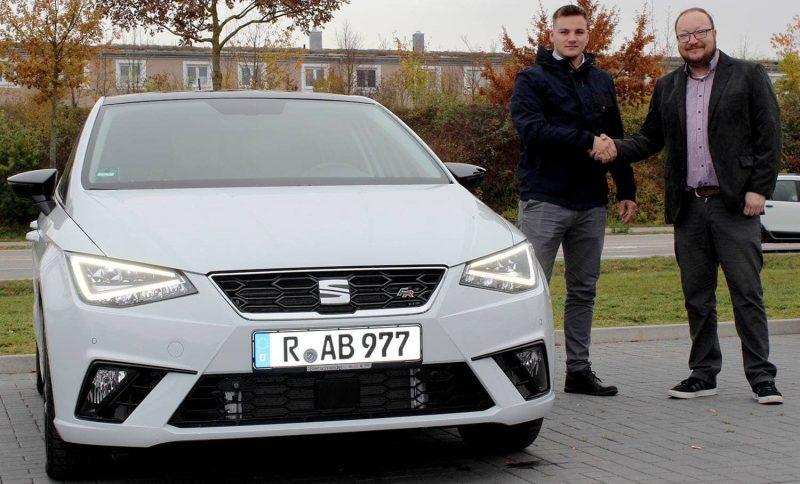 Der Seat Ibiza 1.5 TSI EVO von Auto Bierschneider im Praxistest Sportlich nicht nur im Design