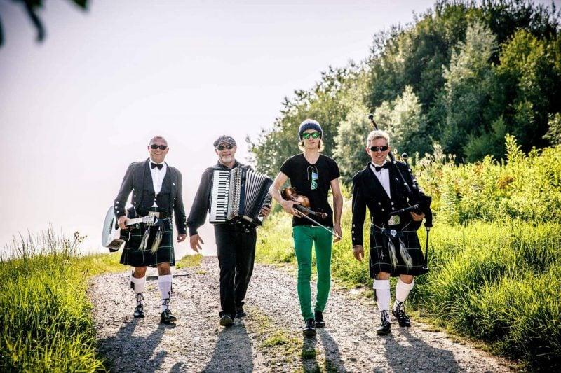 """Schottisch-Irische Nacht in Barbing """"Mac C&C Celtic Four"""" verströmen Lebensfreude"""