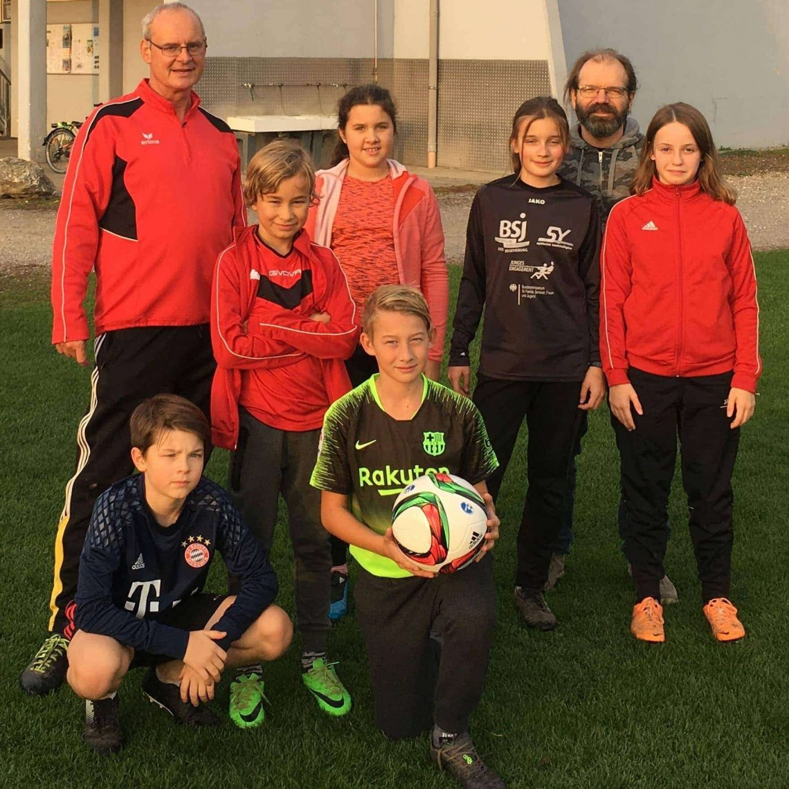 Blizz Leserreporter: DFB-Doppelpass 2020  Jugend des SV Sallern arbeitet mit fünf Schulen zusammen