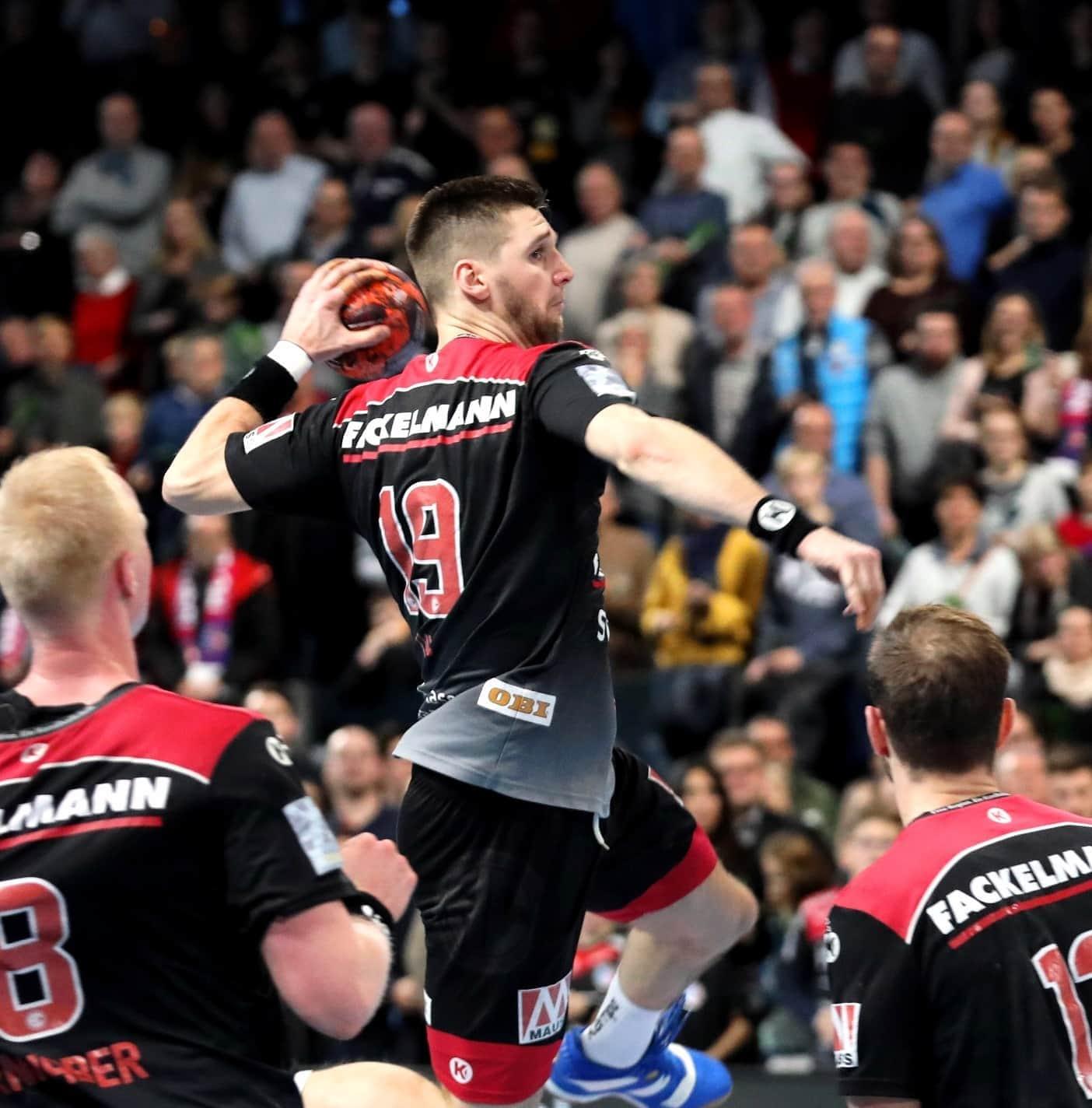HC Erlangen siegt erstmals in Minden Handball-Bundesliga: HC Erlangen feiert damit seinen zweiten Sieg in Serie