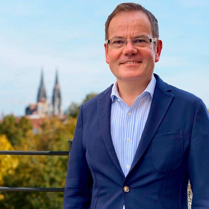 Christian Janele kandidiert für das Amt des Oberbürgermeisters in Regensburg