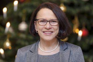 Neujahrsgruß von Gertrud Maltz-Schwarzfischer, Bürgermeisterin der Stadt Regensburg, im Blizz Regensburg