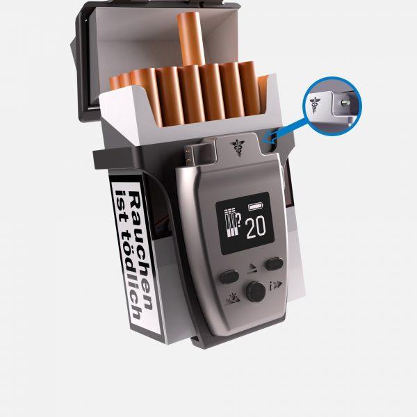 C-BOXX®, die Weltneuheit aus Regensburg Langsam, aber sicher zum Nichtraucher