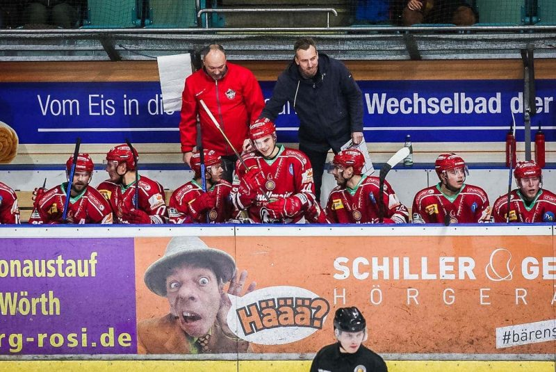 Eishockey: Eisbären Regensburg mit fünf Siegen in Folge Mit Interimstrainer Max Kaltenhauser wieder auf Erfolgskurs