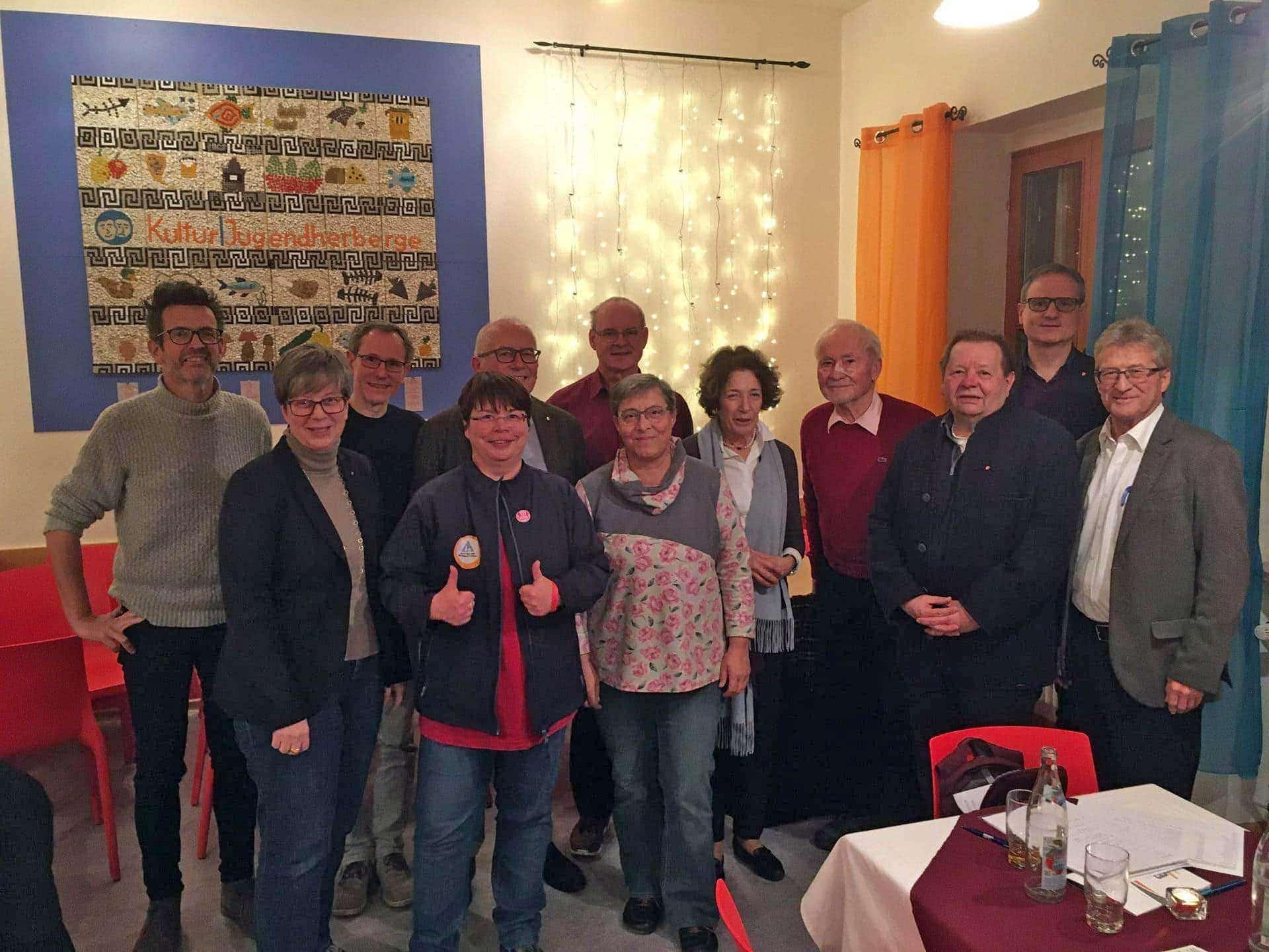 Kultur|Jugendherberge Freundeskreis der Jugendherberge unterstützt Neubau