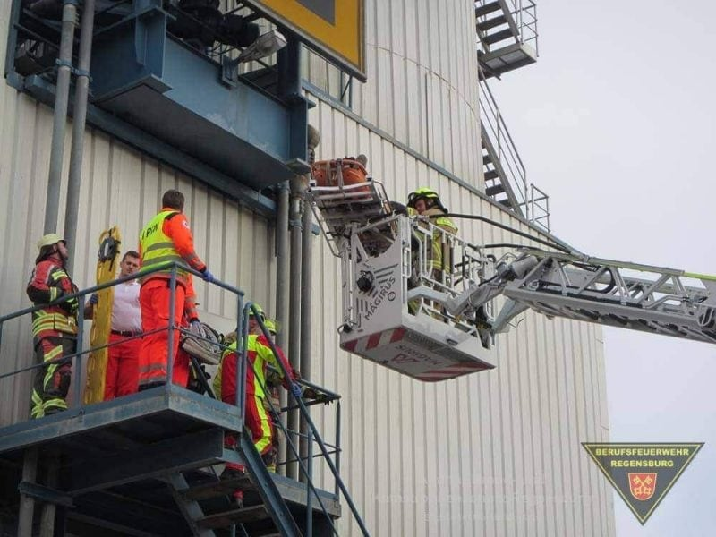 Feuerwehr Regensburg Silounfall