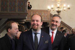 CSU-Kreisvorsitzender Michael Lehnertzender Michael Lehner und Stadtrat Dr. Thomas Burger