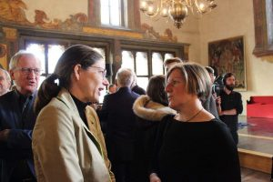 Caroline Hirsch mit Susanne Horn Bischofshof