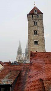 Der Blick aus Hotelzimmern offenbarte neue Ansichten der Welterbestadt Regensburg