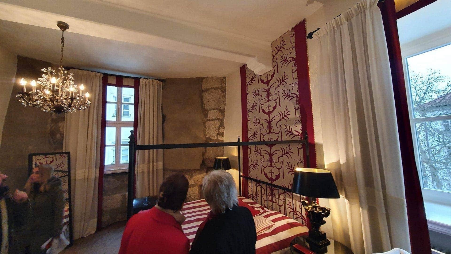 Zimmer mit Geschickte im Hotel Bischofshof