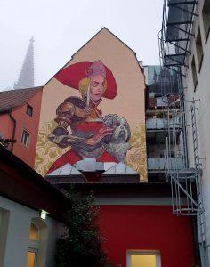 Versteckte Perle im Innenhof des Hotels Münchner  Hof