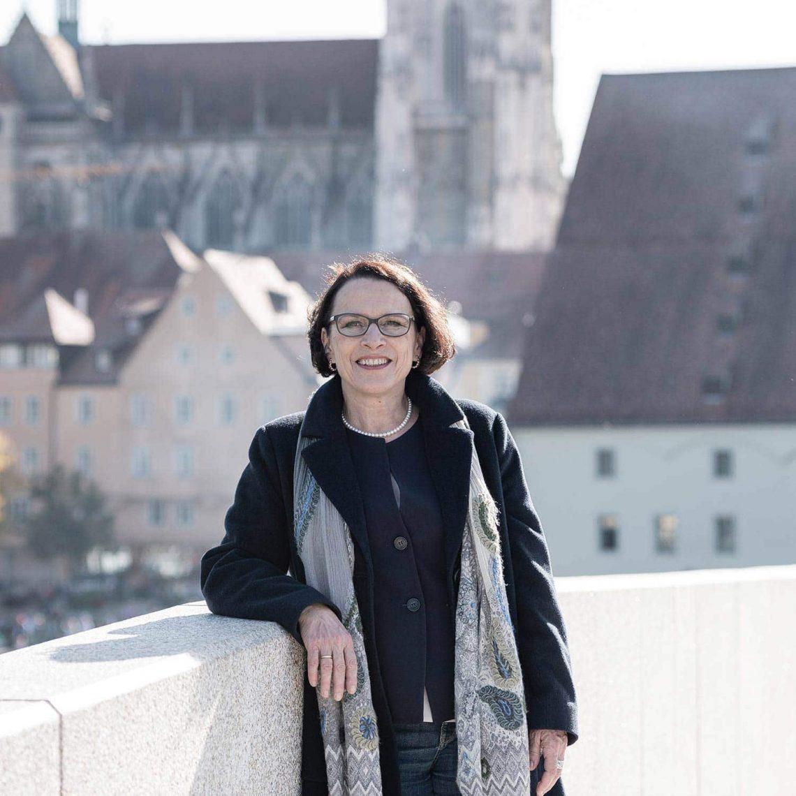 """Gertrud Maltz-Schwarzfischer ist OB-Kandidatin für die SPD in Regensburg """"Ich will Oberbürgermeisterin sein"""""""