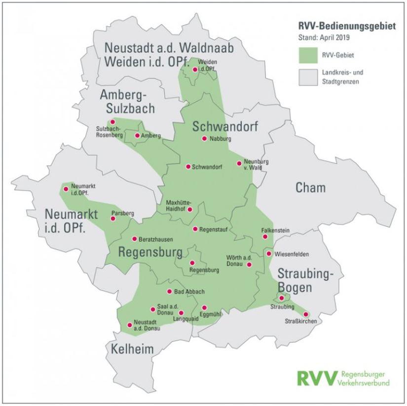Verbundgebiet des RVV_Stand