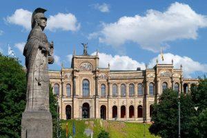 Fahrt in den Bayerischen Landtag