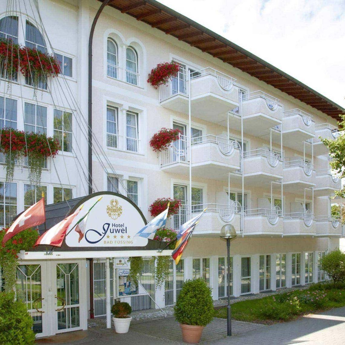 """Entspannen und erholen in Bad Füssing """"Stammgast-Wochen"""" im Hotel Juwel bis 22. Februar 2020"""
