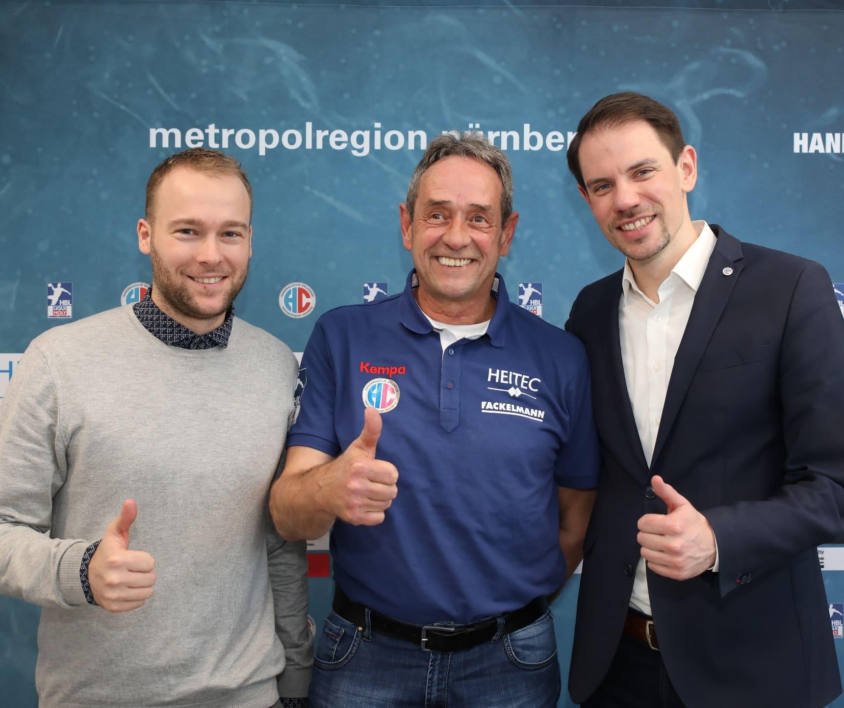 Handball-Bundesliga: HC Erlangen wechselt Trainer Blizz Leserreporter: HC Erlangen