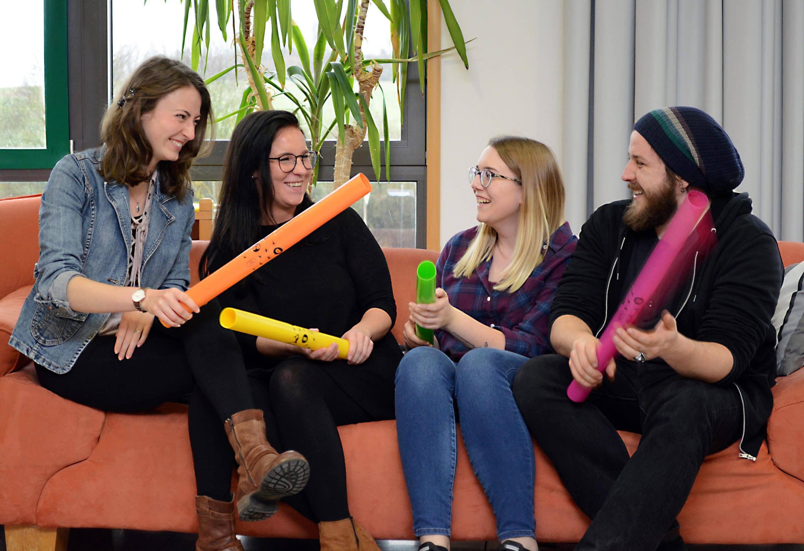 Ausgebildet, um zu helfen Fachschule für Heilerziehungspflege in Abensberg