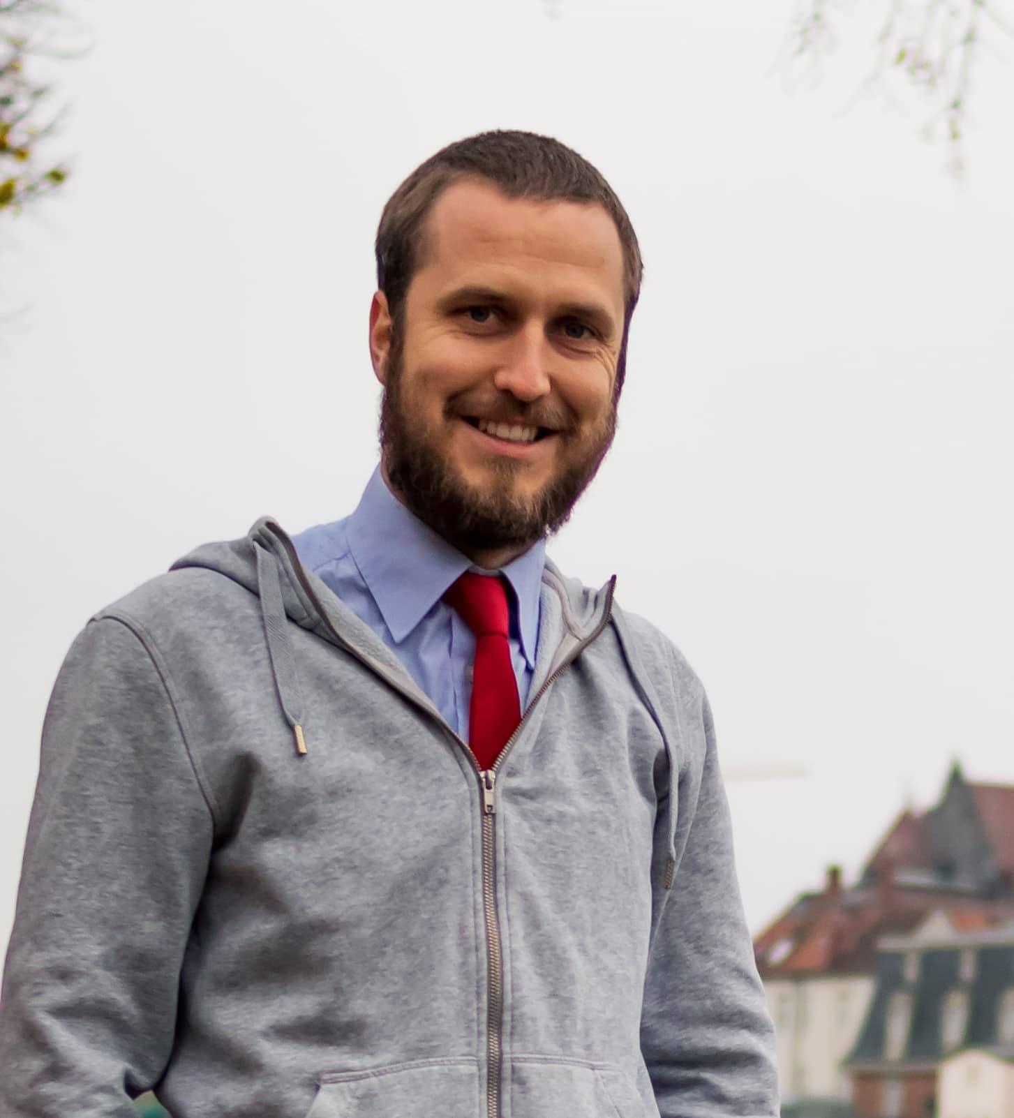 """""""Jede Stimme für uns ist keine für die Anderen!"""" Ingo Frank ist Oberbürgermeisterkandidat der Partei Die PARTEI"""
