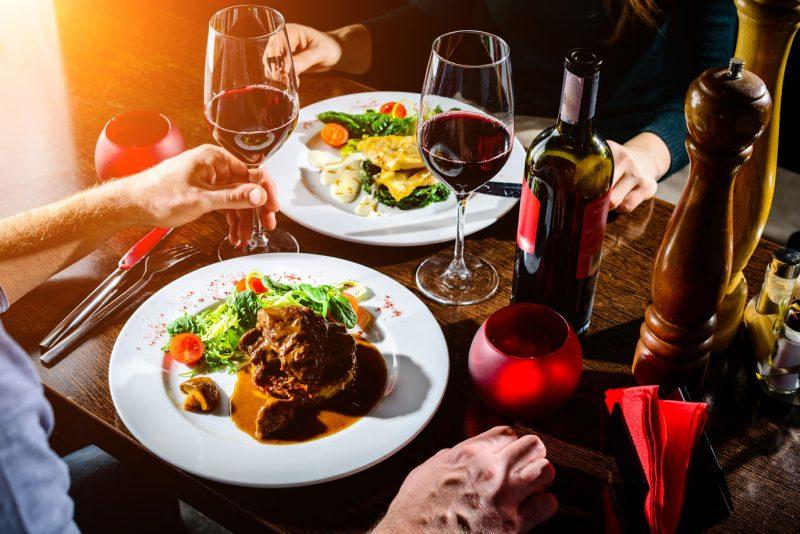 Valentinsmenü im Cafe Bellissima Blizz Leserreporter: Drei Gänge Menü