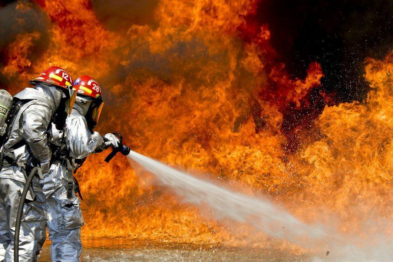 Feuerwehr Brand Tegernheim