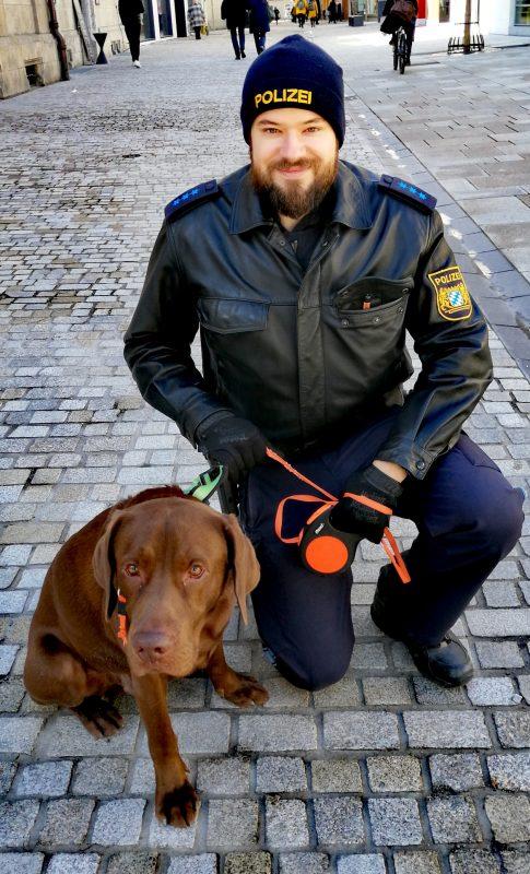 Regensburg: Labrador-Hund sucht sein Herrchen bzw. Frauchen / Polizei bitte um Mithilfe