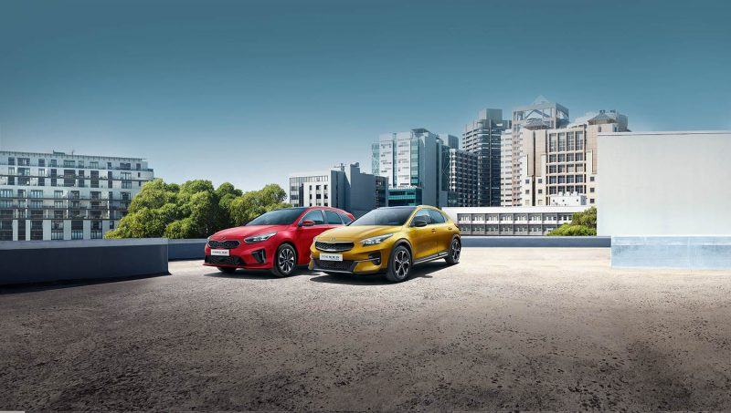 Die Kia Ceed Familie. Jetzt auch mit Plug-in-Hybrid-Modellen. 7. März 2020: Große Premiere bei Sieber Automobile in Regensburg und Straubing