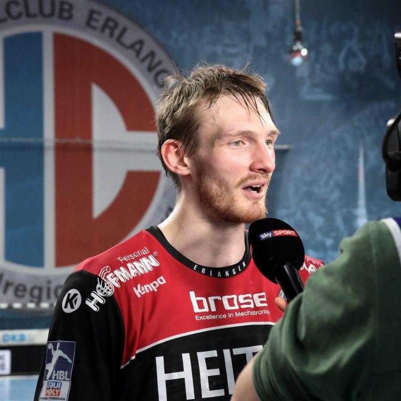Handball: HC Erlangen feiert Heimsieg gegen den Bergischen HC Blizz Leserreporter: HC Erlangen kämpften sich ins Spiel zurück