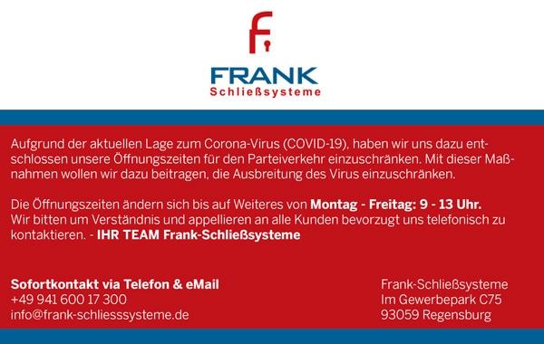 Frank Schließsysteme
