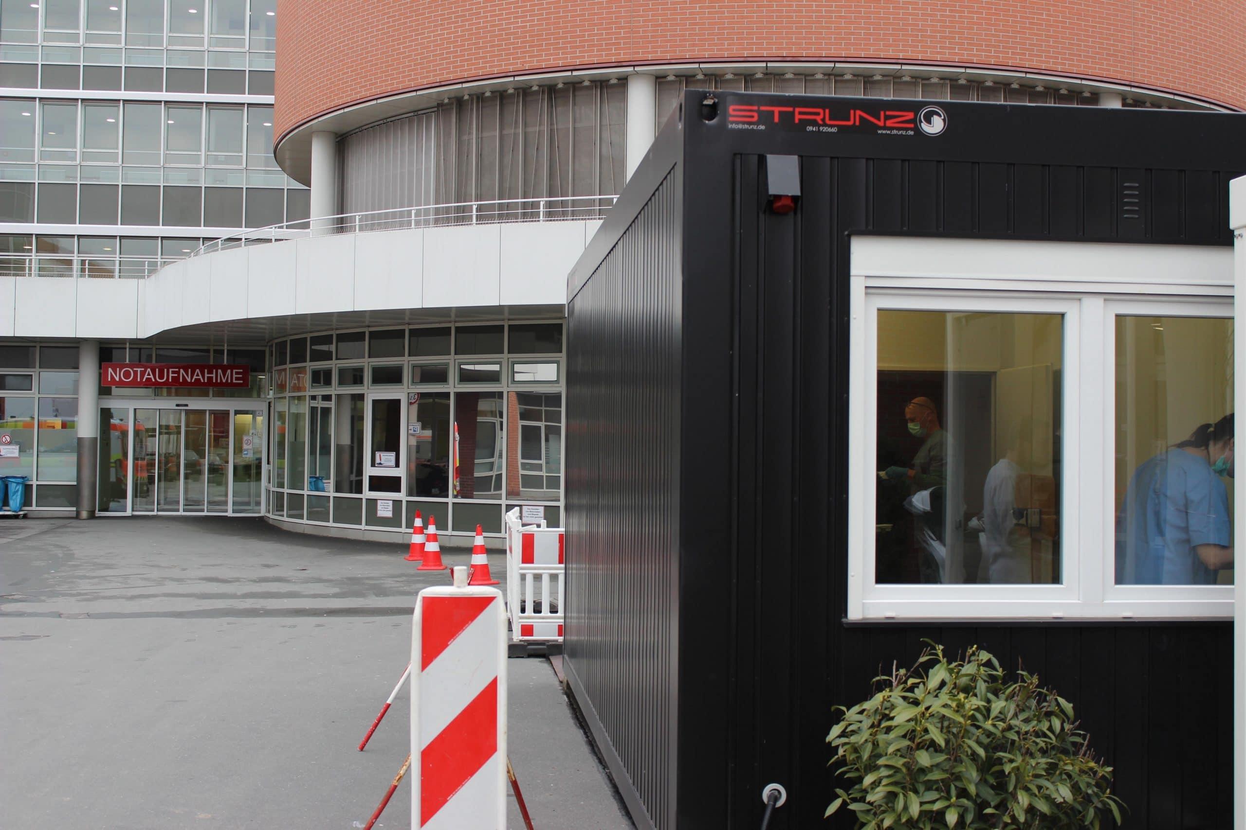 Coronavirus: Wie gut sind die Regensburger Krankenhäuser vorbereitet? Uniklinikum führt Tests im Container durch