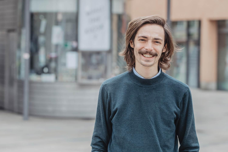 Brücke - Florian Rottke (34)  Designer, Trafikant Foto: Brücke