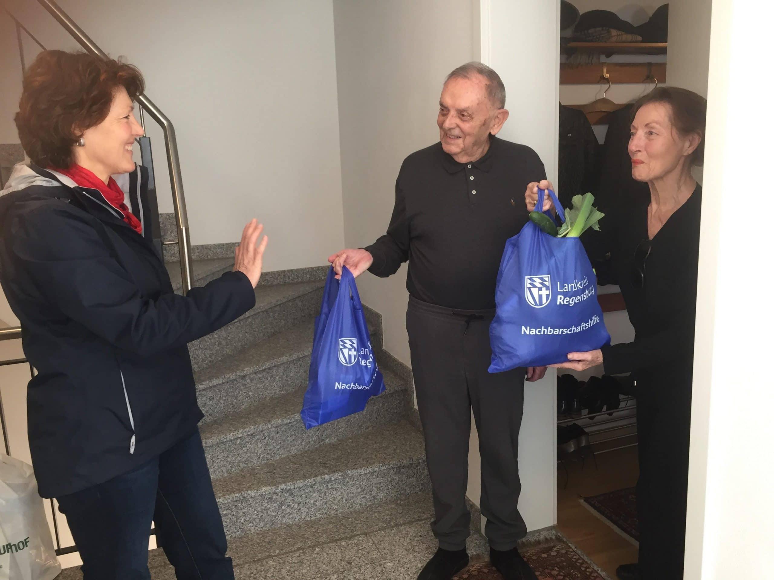 Coronavirus: Nachbarschaftshilfe in Stadt und Landkreis Wer will helfen - wer braucht Hilfe?