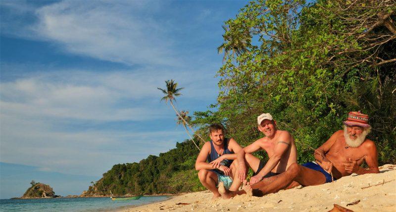 """Corona-Quarantäne im Paradies Weltumsegler """"Gangerl"""" Clemens aus Roding sitzt mit Crew in Malaysia fest"""