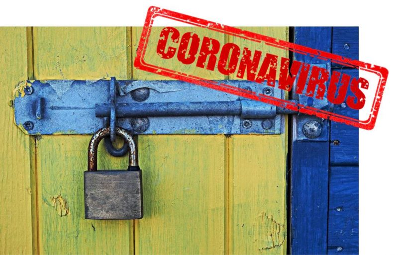 geschlossen wegen corona
