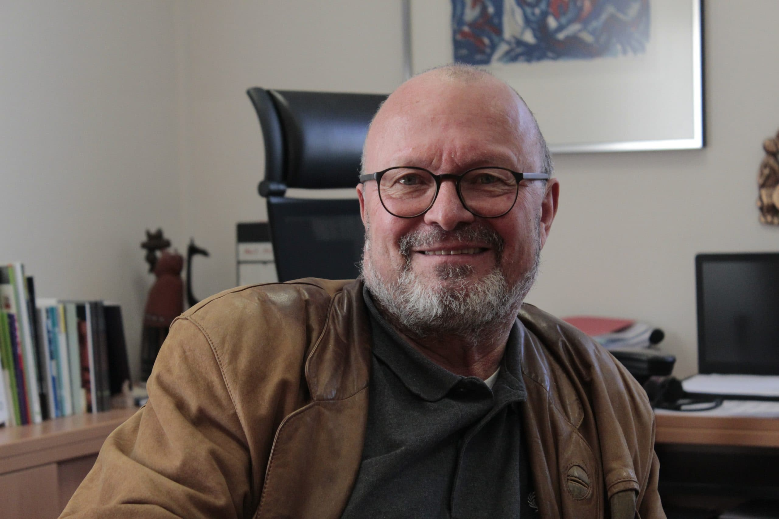 Videobotschaften statt großer Feier Gesamtleiter Reinhard Mehringer nimmt leise Abschied aus dem Pater-Rupert-Mayer-Zentrum