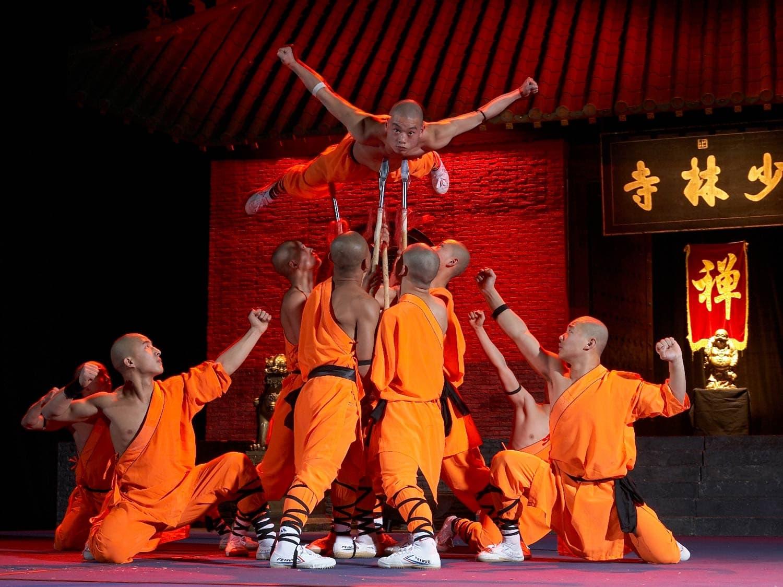 Die mystischen Kräfte der Mönche des Shaolin Kung-Fu Faszinierende Show am 27. März im marinaforum Regensburg