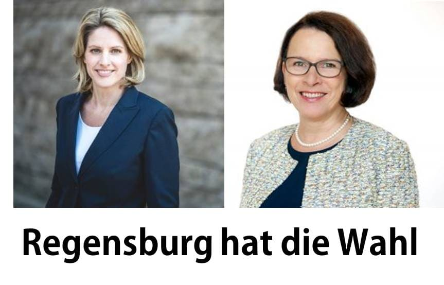 So beeinflusst die Corona-Krise die Stichwahl Um Wähler zu mobilisieren: Dr. Freudenstein (CSU) und Maltz-Schwarzfischer (SPD) im Digital-Modus