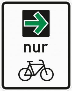 neuer Grünpfeil Radverkehr