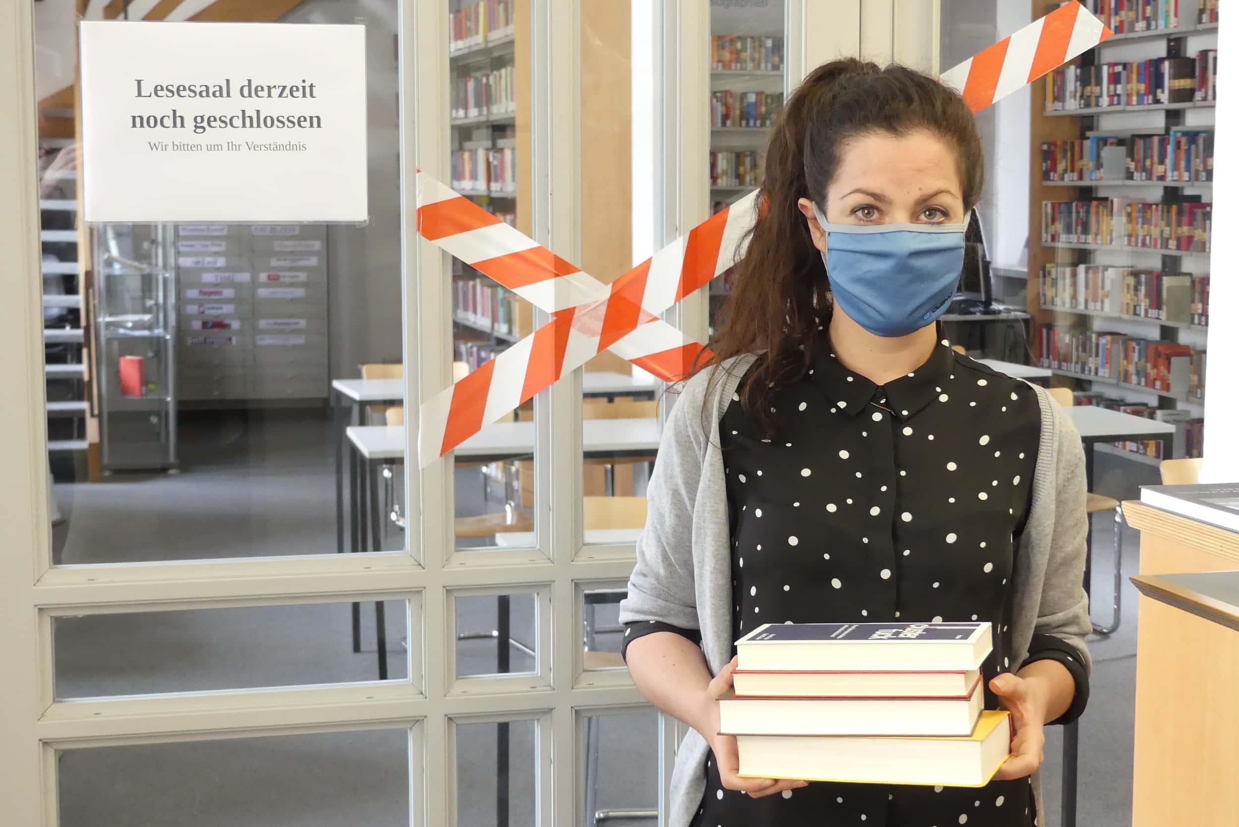 Lesesaal – nein, Ausleihe – ja: StaBi öffnet heute Wiederöffnung der Ausleihe in der Staatlichen Bibliothek Regensburg