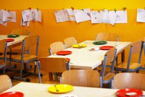leerer kindergarten wegen coronavirus