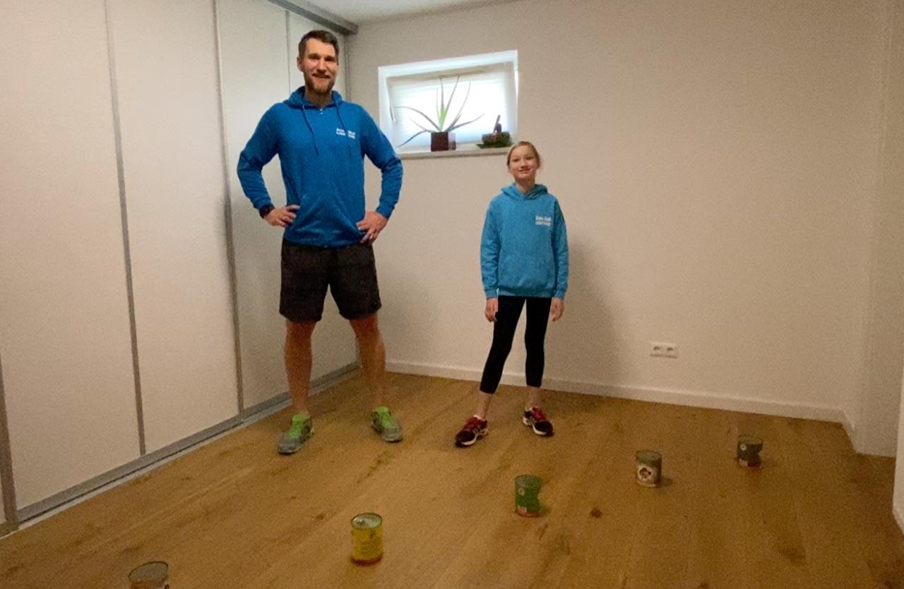 Kindertraining für Zuhause Sport in Zeiten von Corona: Videos vom Armin Wolf Laufteam
