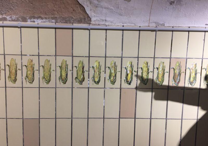 Kukuruz: Moderne Kunst am Hauptbahnhof donumenta ART LAB Gleis 1 eröffnet monokulturelles Stillleben