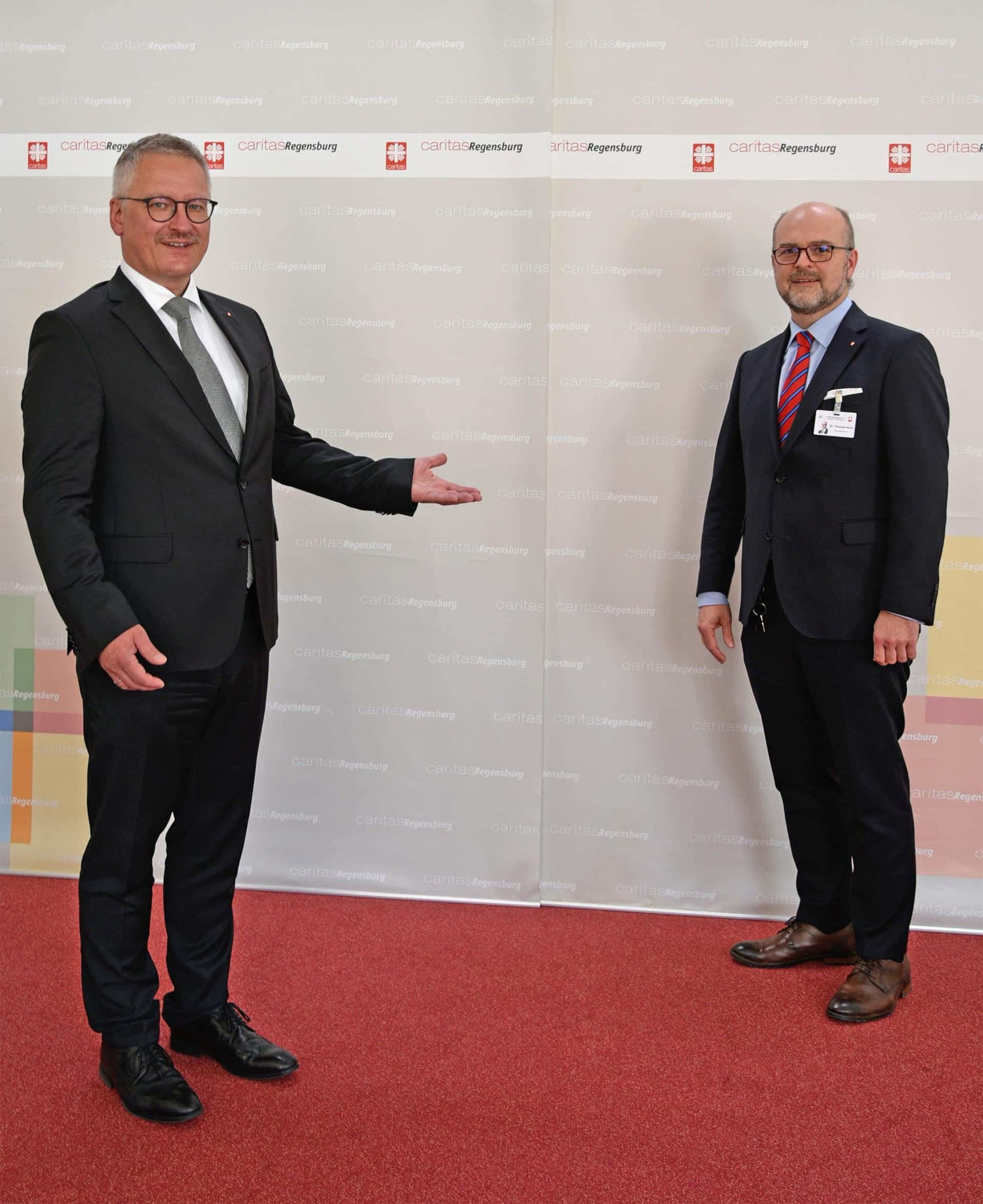 Neuer Geschäftsführer am Caritas-Krankenhaus St. Josef Dr. Thomas Koch tritt neues Amt mitten in der Coronakrise an