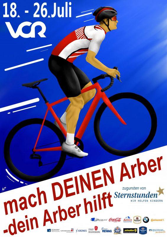 Der Arber Radmarathon findet statt – aber völlig anders als geplant In diesem Jahr wird für das Gemeinschaftsgefühl geradelt
