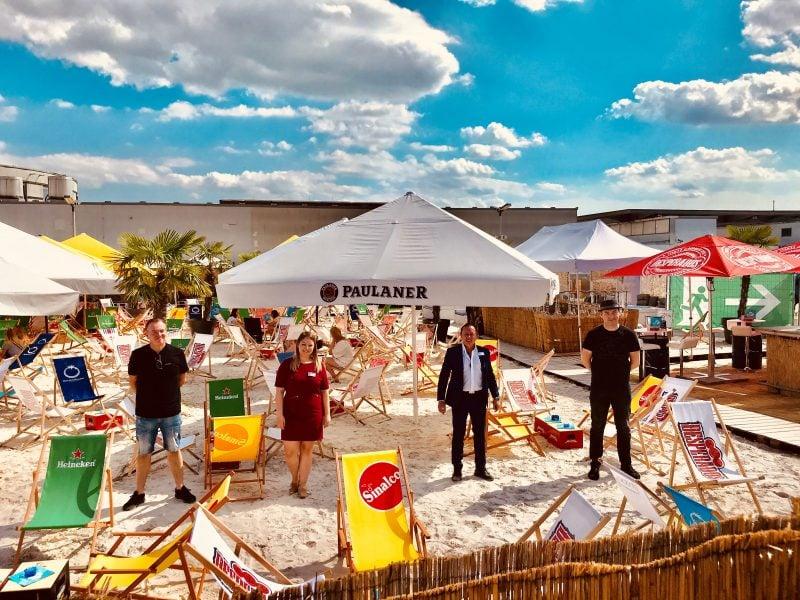 3. Arcaden Beach Blizz Leserreporter: bis 31. August Copacabana-Feeling mit abwechslungsreichem Angebot