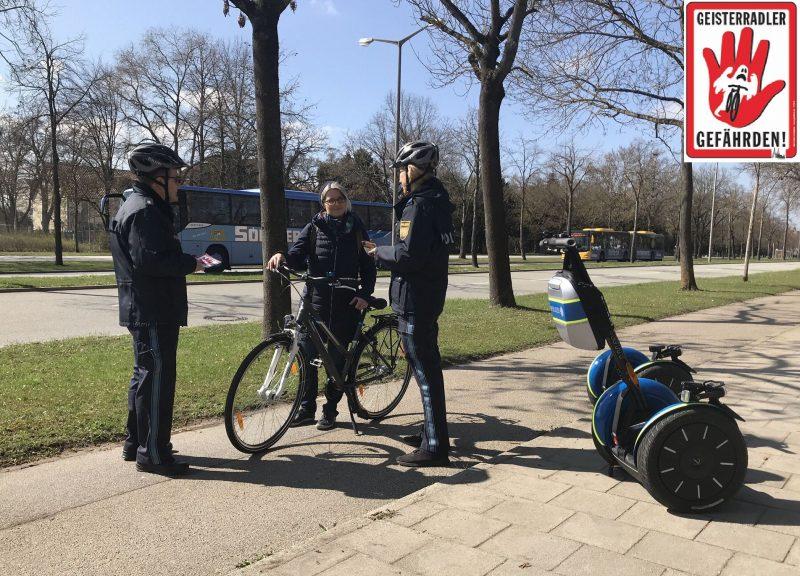 Achtung, Kontrolle! Sicher unterwegs auf Regensburger Straßen - Schwerpunkt Fahrradfahrer und E-Fahrzeugführer