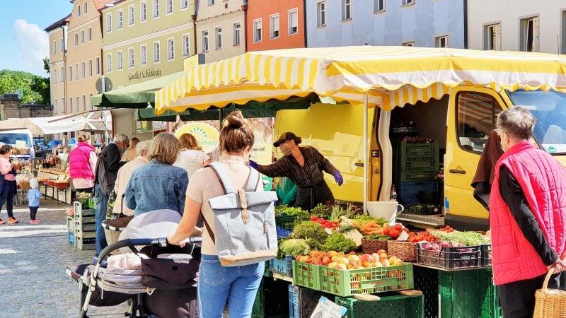 BAuernmarkt in Stadtamhof