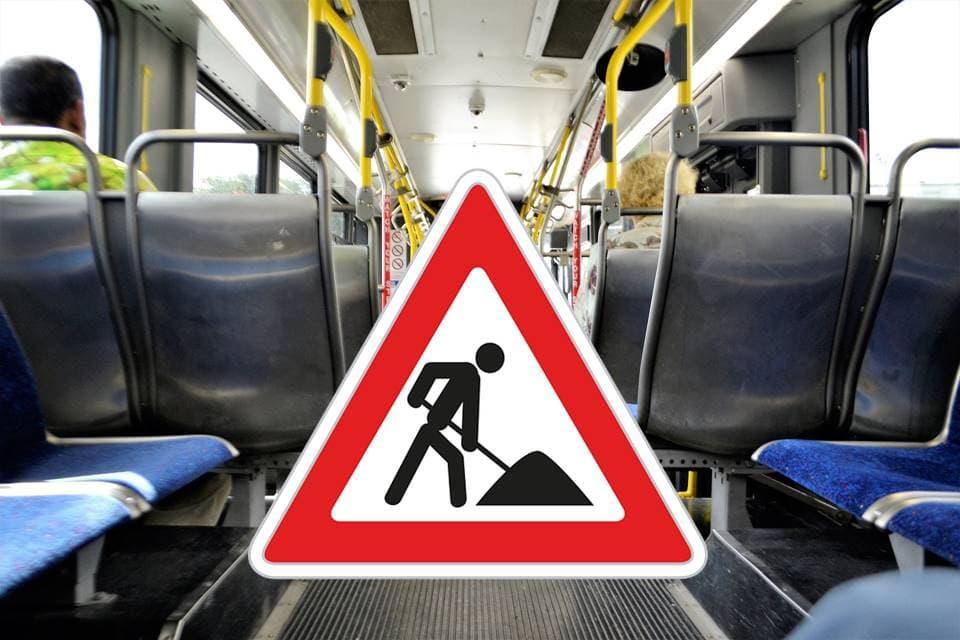 Busumleitungen aufgrund Bauarbeiten auf der A3 Änderungen für die Linien 2, 6, 9 und 11 zwischen 27. Juni und 18. Juli