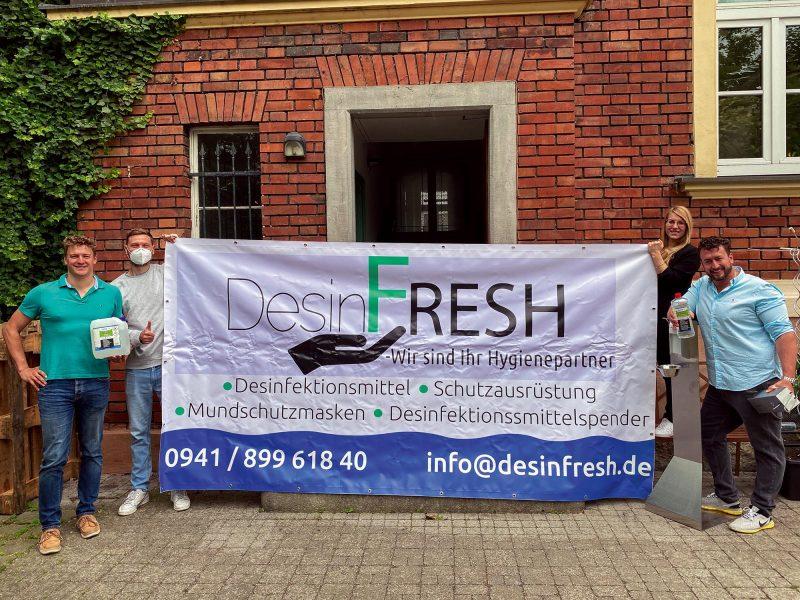 DesinFRESH: Desinfektion aus Regensburg – neu gedacht Besserer und umweltbewussterer Schutz