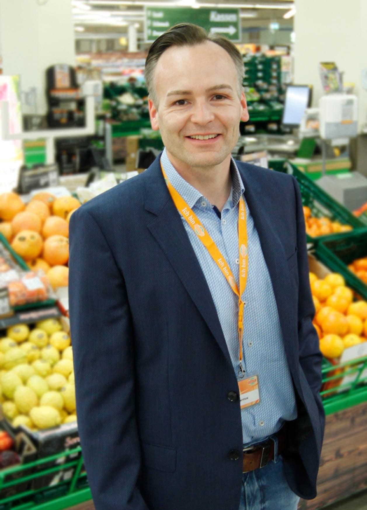 Michael Hermus ist neuer Geschäftsleiter im Globus Neutraubling Erster Ansprechpartner für die Kunden